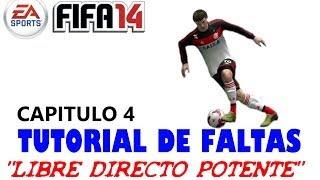 Fifa 2014. Tutorial de faltas 4