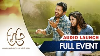 A Aa Movie Audio Launch LIVE