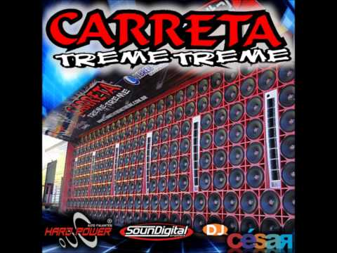 CD CARRETA TREME TREME - Dj César 2012