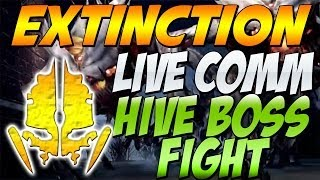 "Cod Ghosts - ""EXTINCTION HIVE BOSS FIGHT"" Live Comm (Call of Duty Ghosts Extinction Mode)"