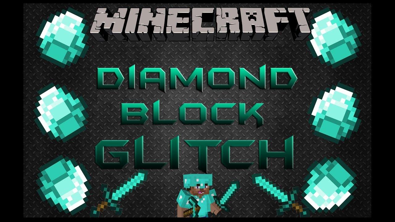 how to break diamond blocks in minecraft