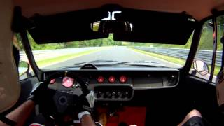 Skoda 110R on Nordschleife 4th stint, 25.5.2014