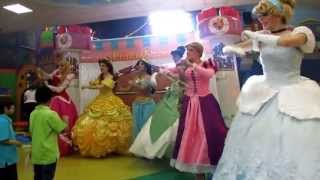 PrincesShow Show de Princesas en Monterrey estilo Disney - Cenicienta - Rapunzel - Mérida - Jazmín view on youtube.com tube online.