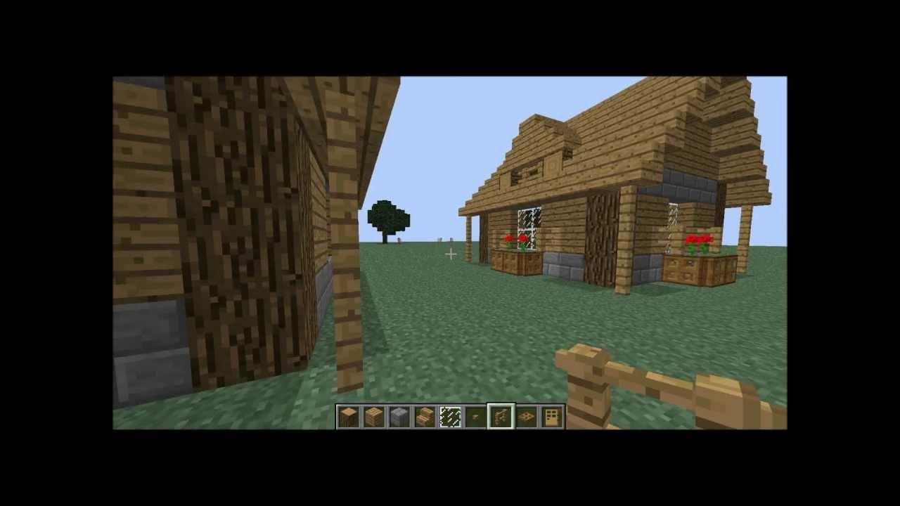 Tuto comment faire une belle petite maison sur minecraft partie 1 youtube - Comment faire une tres belle maison minecraft ...