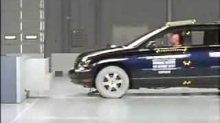 Crash Test 2004 - 2008 (Discontinued) Chrysler Pacifica (Frontal Offset) IIHS videos