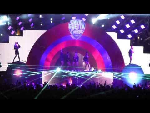 David Guetta live @ Ushuaia Ibiza 21.07.2014 - Reload (SHM) and Cuba (Calvin Harris)