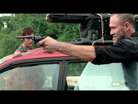 The Walking Dead S3 E10 The Spanish Family Scene