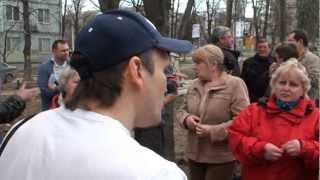 Народное противостояние на улице Алба Юлия