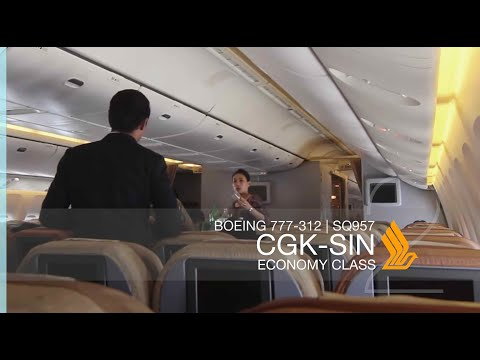 FLIGHT REPORT #7 - [9V-SYL] Singapore Airlines SQ957 | Jakarta (CGK) - Singapore (SIN)