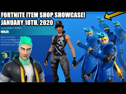 Fortnite Item Shop SURVIVAL SPECIALIST & NINJA Skin! [January 18th, 2020] 🔥 Fortnite Battle Royale