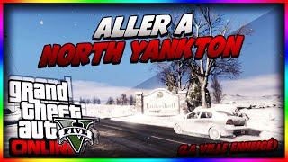 """Comment Aller A """"NORTH YANKTON"""" La Ville Enneigé Sur GTA"""