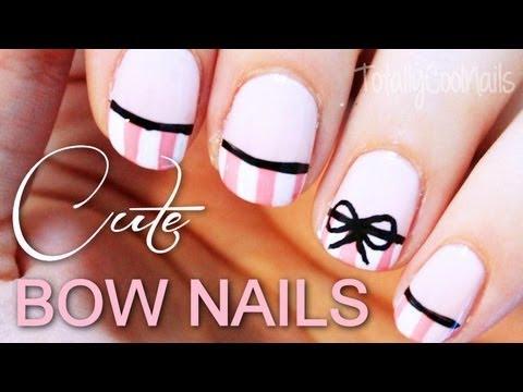 Glitzy Prom Bridal Nail Art Totallycoolnails Nails Art 3 Video