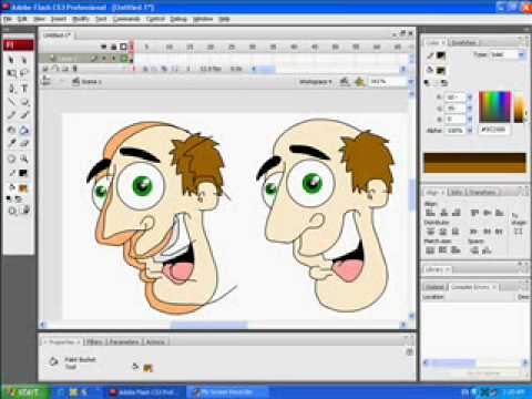 2d animation in flash download