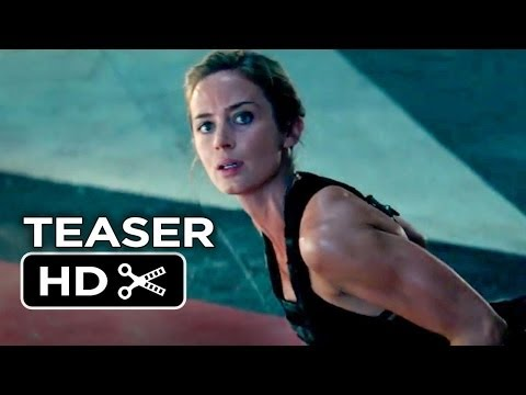 Edge Of Tomorrow Official Teaser Trailer #1 (2014) - Emily Blunt, Tom Cruise Movie HD