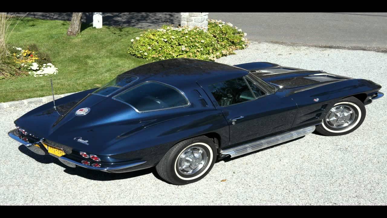Sold 1963 corvette split window daytona blue for sale for 1963 corvette split window sale