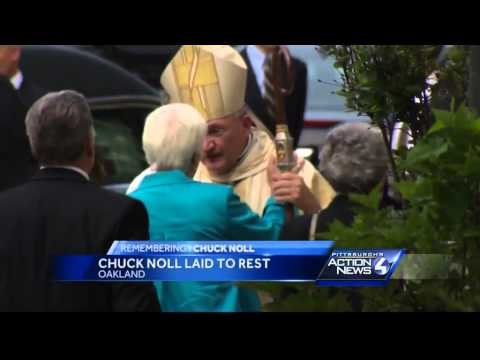 Funeral Mass held for Chuck Noll in Pittsburgh