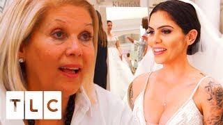 Cami Li Sacrifices Her Dream Black Dress To Make Her Mum Happy | Say Yes To The Dress US