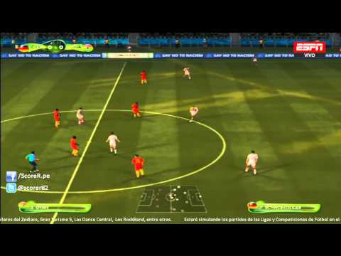 EA SPORTS 2014 FIFA WORLD CUP - Germany vs Ghana - Group G @ Simulacion PS3
