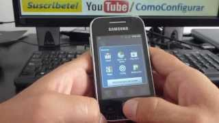 Cómo Desinstalar Las Aplicaciones Samsung Galaxy Y S5360