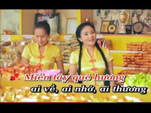 Mien Tay Que Toi karaoke cobexinhxinh