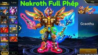 [Gcaothu] Nakroth Full sức mạnh phép thuật troll xếp hạng cực kì Bá Đạo - Liên Quân Mobile