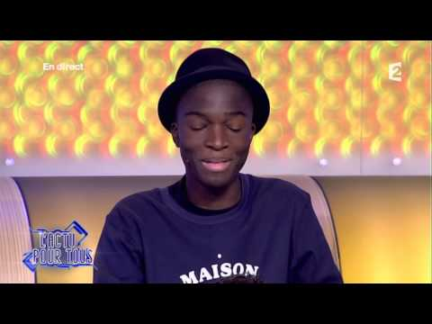Stéphane Bak raconte l'interview de Pharrell Williams par Enora - L'Emission pour tous - 27/02/2014