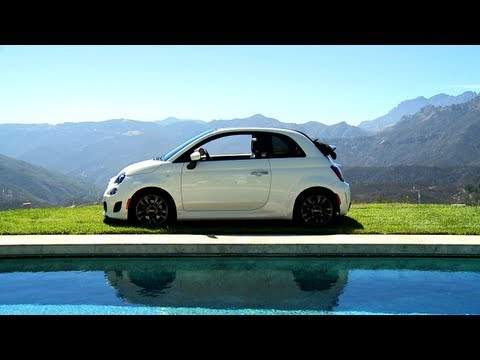 Fiat 500c GQ Edition Running Footage