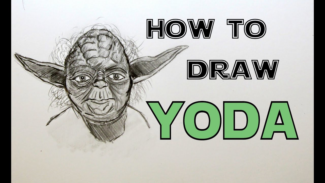 Displaying 17 gt  Images For - Yoda Face Drawing   Yoda Face Drawing