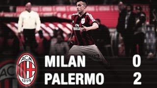 Milan-Palermo 0-2 Highlights   AC Milan Official