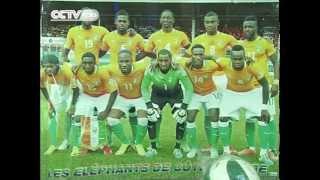Cote D'Ivoire Fan Expresses Her World Cup Enthusiasm