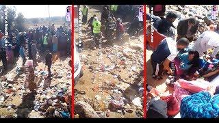 فيديو جد صــادم..لحظة اتشال جثة ضحايا فاجعة الصويرة و تصريحات جد مؤثرة لعائلات الضحايا | خارج البلاطو