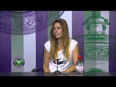 Alize Cornet 'cannot believe' Serena upset - Wimbledon 2014