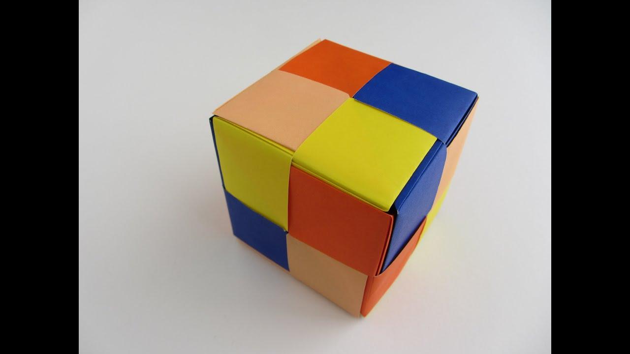 modular origami cube wwwimgkidcom the image kid has it
