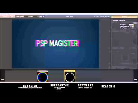 Speedart #11 - PSP Magister Intro - by Donadigo