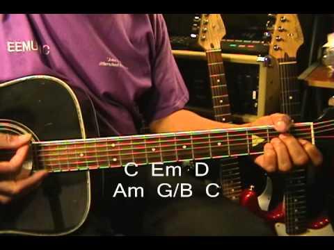 Calvin Harris SUMMER  Easy Acoustic Guitar Lesson Tutorial EricBlackmonMusic