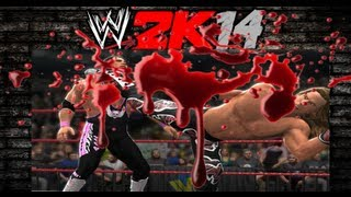 WWE 2K14 BLOOD + WEAPONS + HARDCORE
