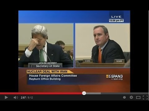 Congressman Jeff Duncan Questions Secretary John Kerry on Iran Nuclear Deal 12/10/13