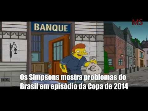MENSAGENS SUBLIMINARES - THE SIMPSONS / COPA DO MUNDO 2014