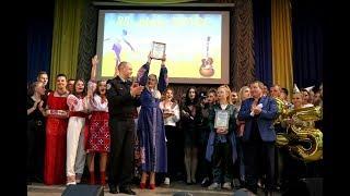 Нагородження переможців огляд-конкурсу  художньої самодіяльності факультетів