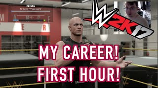 The First Hour of WWE 2K17's My Career - 60FPS 1080P