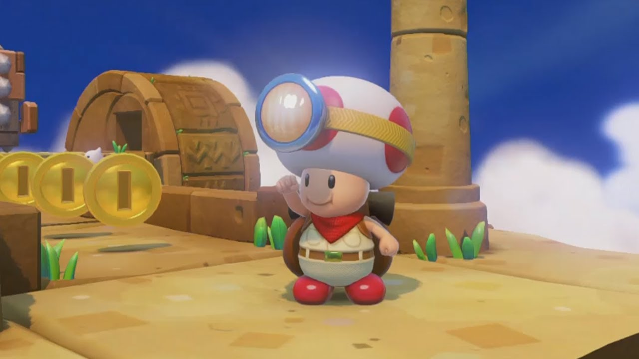 Captain Toad: Treasure Tracker (Switch Your Viewpoint) Maxresdefault