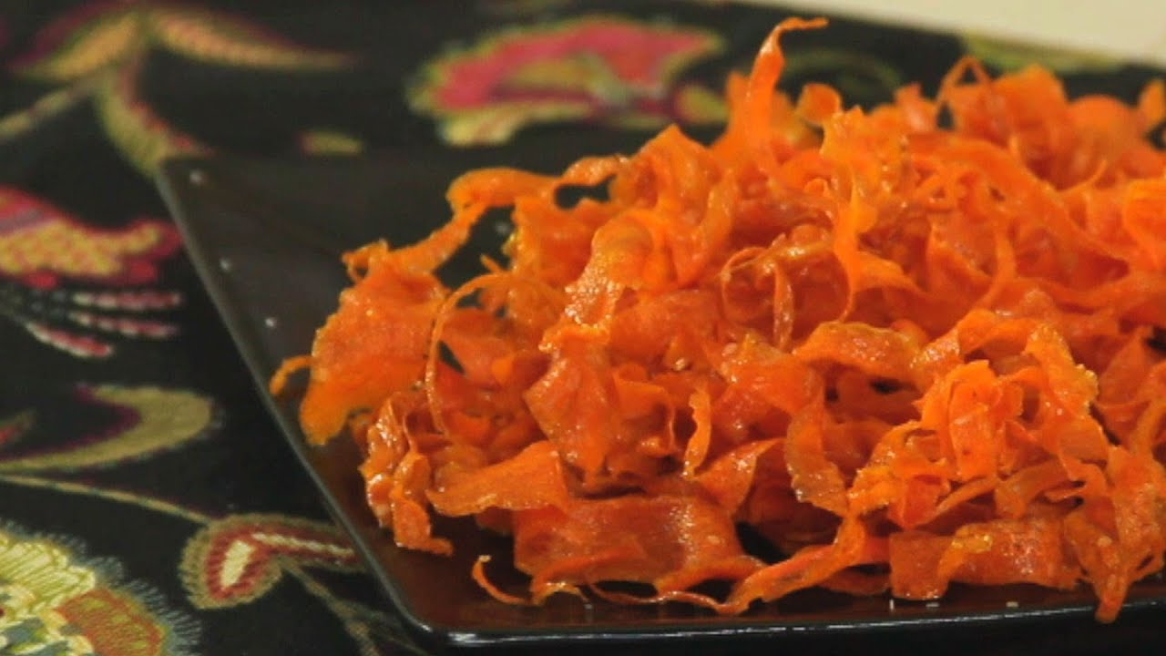 Carrot Chips Recipe - YouTube