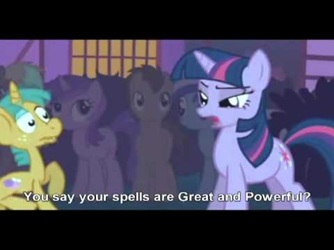 Twilight Sparkle VS The Great and Powerful Trixie, 