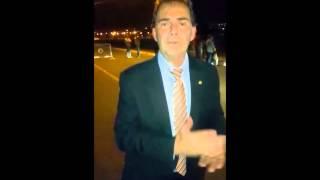 """Sindicalistas fazem """"sardinhada"""" em Brasília contra maldades de Dilma"""