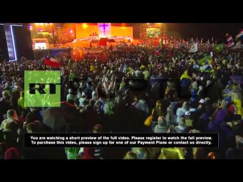 Brazil: Large crowd marks World Youth Day opening in Rio