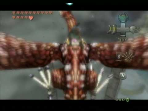 Zelda Twilight Princess Boss 7 : Argorok/Pyrodactilus (no damage)