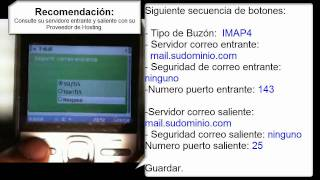 Configuracion De Email En Un Movil Nokia E5