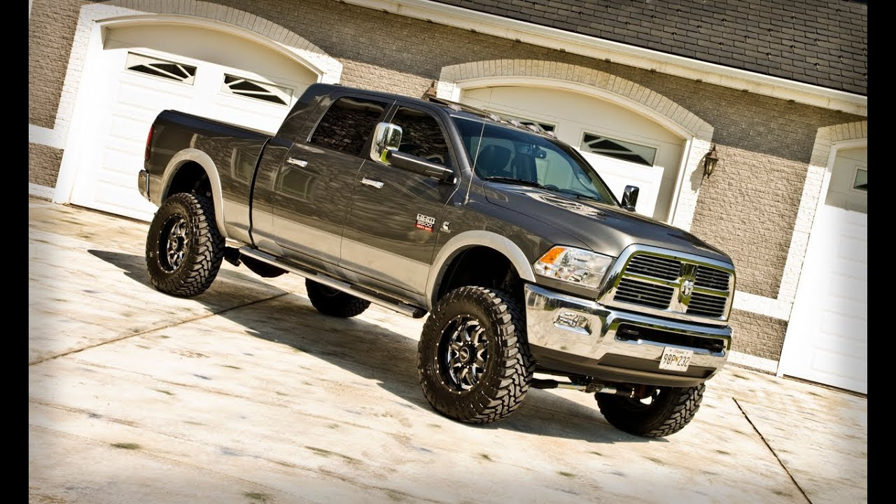 Dodge Ram 3500 2014 Lifted Mcgaughys Suspension 6 2012 Inch Lift