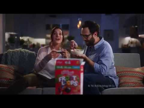"Super Mario Bros. appearance in a new Froot Loops commercial... I love how they're playing the title screen sequence :) <a href=""http://youtu.be/IN1cUsd8brs"" class=""linkify"" target=""_blank"">http://youtu.be/IN1cUsd8brs</a>"