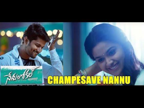 Nenu-Local-Movie-Champesave-Nannu-Full-Video-Song